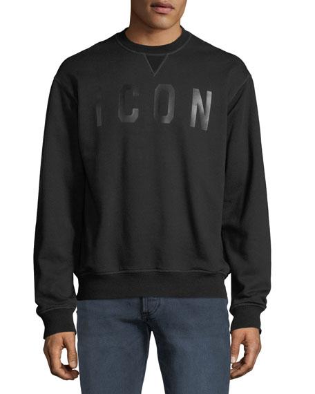 Dsquared2 Men's Icon Collegiate Crewneck Sweatshirt