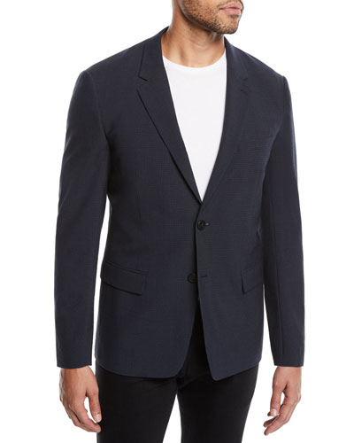 Men's Gansevoort Function Seersucker Jacket