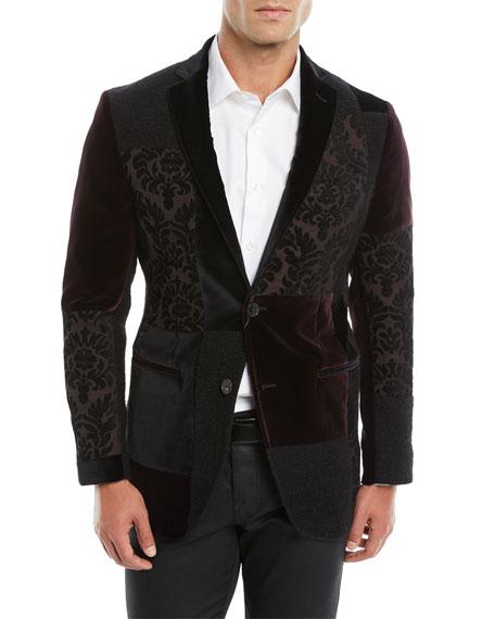 Patchwork Velvet Jacket