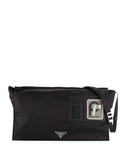 Men's Tessuto Soft Messenger Bag