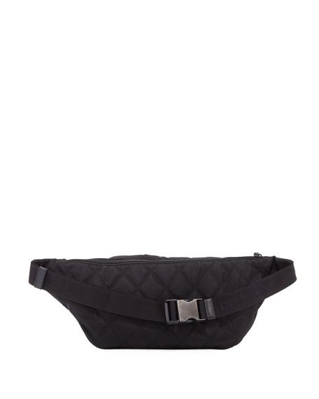 Tessuto Impunturato Fanny Pack Bag