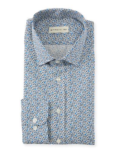 Men's Mini Paisley Sport Shirt