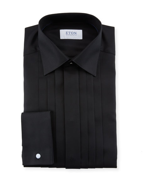 Eton Men's Slim-Fit Pleated-Bib Formal Dress Shirt