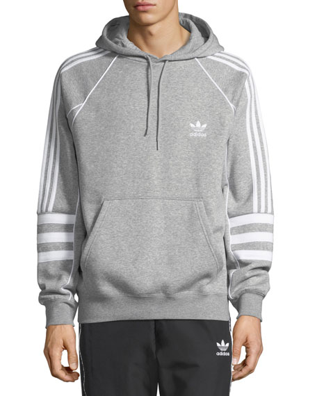 Adidas Men's Authentic Logo Hoodie Sweatshirt