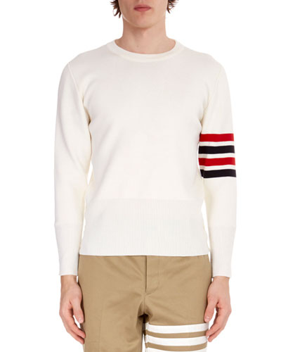 Men's Milano-Stitch Pullover Sweater