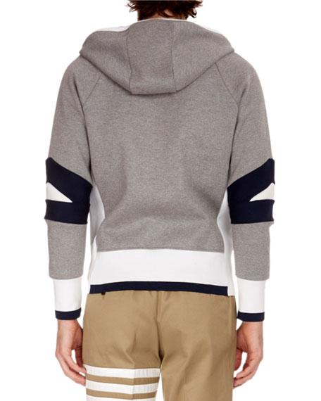 Men's Articulated Zip-Front Hoodie