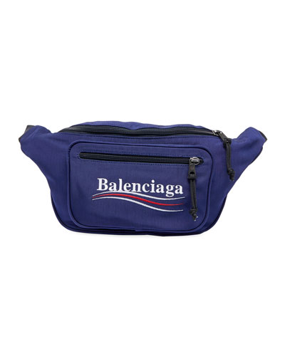 Men's Nylon Fanny Pack with Political Campaign Logo