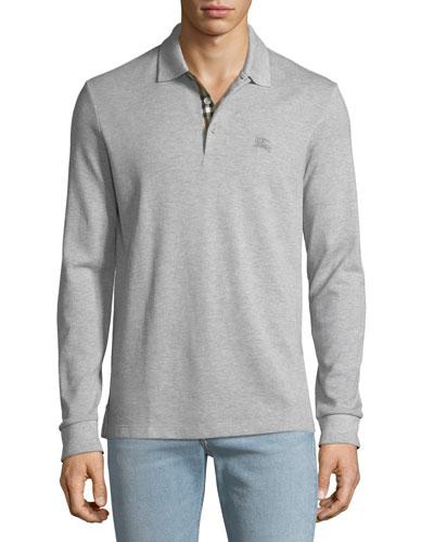 Men's Hartford Long-Sleeve Polo Shirt