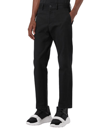 Men's Straight-Leg Chino Pants