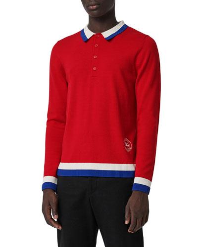 Men's Brandon Polo Sweater