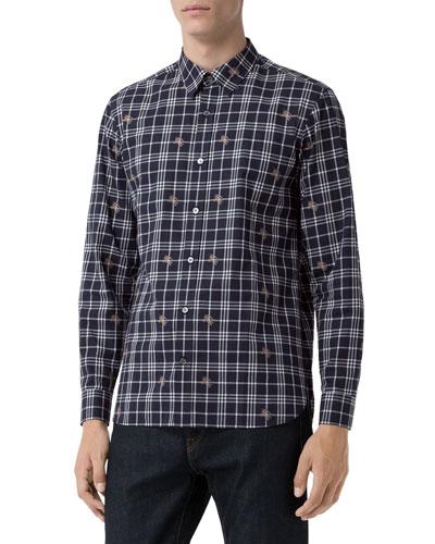 Men's Edward Check Sport Shirt