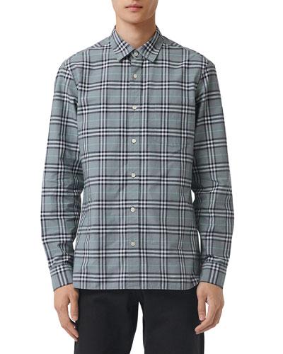 Men's Alexander Check Sport Shirt