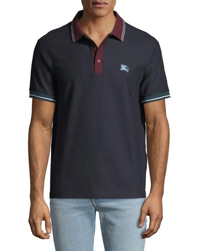 Men's Hursford Contrast-Trim Polo Shirt