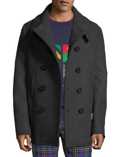 Men's Claythorpe Double-Breasted Wool Coat