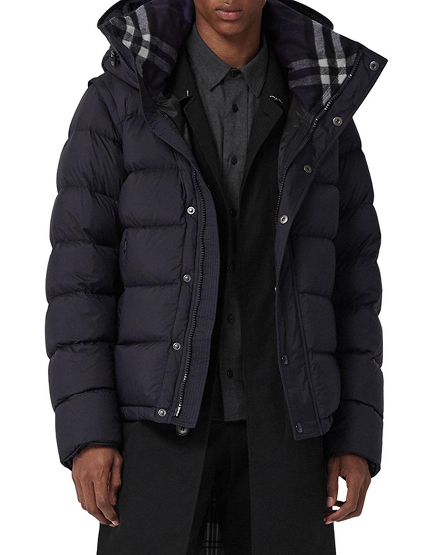 acf2ceadac1 Burberry Men s Hartley 2-in-1 Puffer Coat