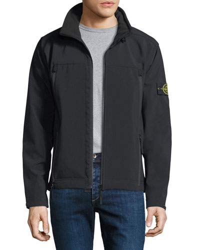 Men's Lightweight Zip-Front Jacket
