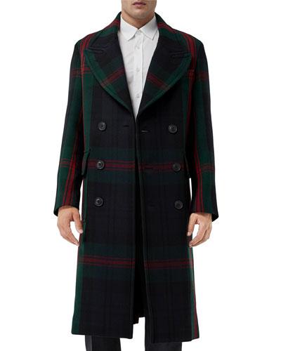 Men's Edgbaston Signature Check Coat