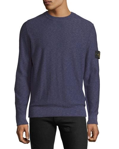 Men's Wool-Blend Crewneck Sweater