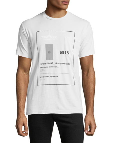 Men's Graphic Cotton T-Shirt