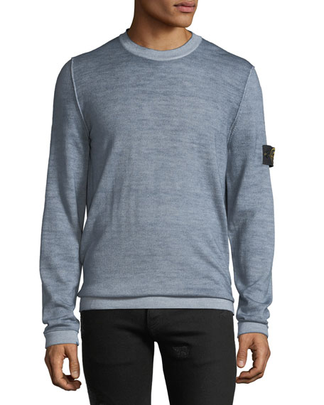 Men's Heathered Wool Sweatshirt