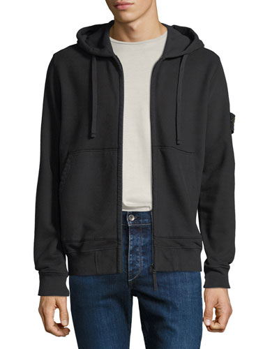 Men's Hooded Zip-Front Sweatshirt