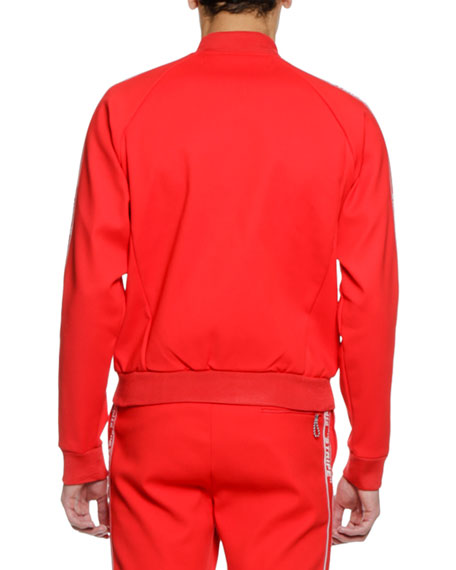 Men's Zip-Front Track Jacket