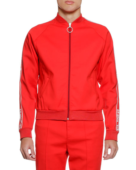 Off-White Men's Zip-Front Track Jacket