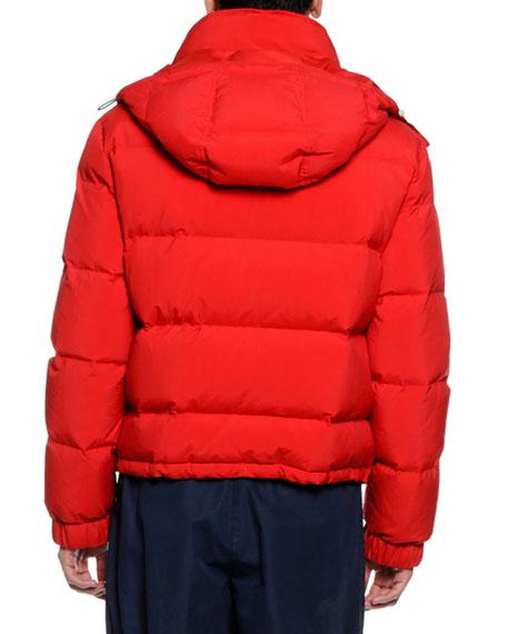 Men's Quote Puffer Jacket