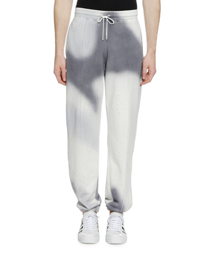 Men's Spray Pattern Sweatpants