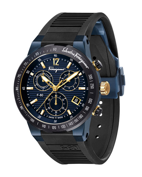 Men's F-80 Chronograph Watch, Blue