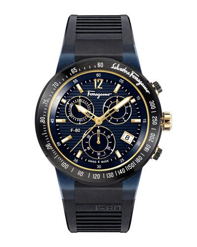Men's F-80 Chronograph Watch, Blue
