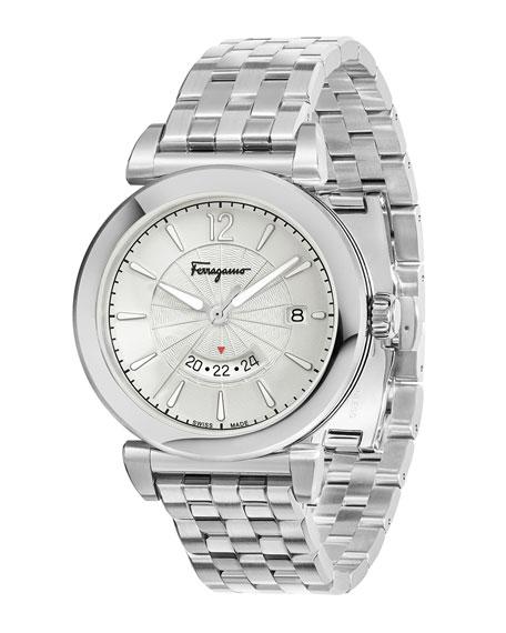 Men's Feroni Bracelet Watch, Silver