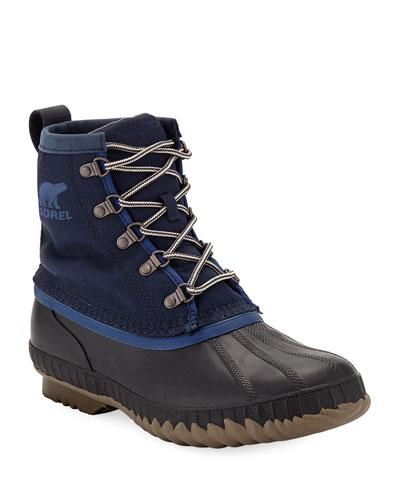 Men's Cheyanne II Short Nylon Lace-Up Duck Boots