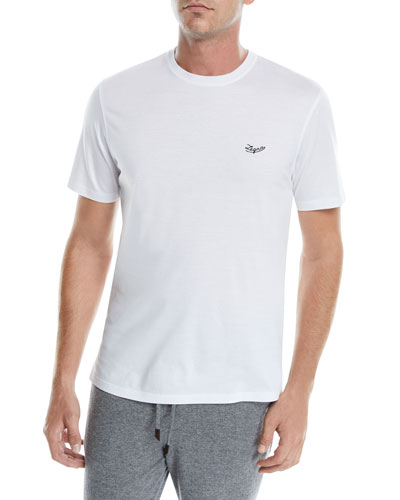 Men's Logo-Embroidered T-Shirt