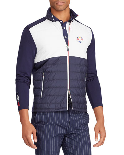 Men's Ryder Cup USA Cool Wool Insulating Golf Jacket