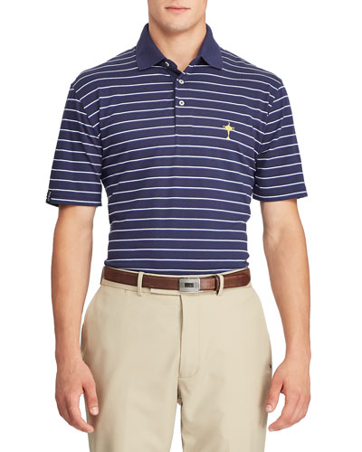 Ralph Lauren Men\u0027s Ryder Cup Striped Tennis Polo Shirt