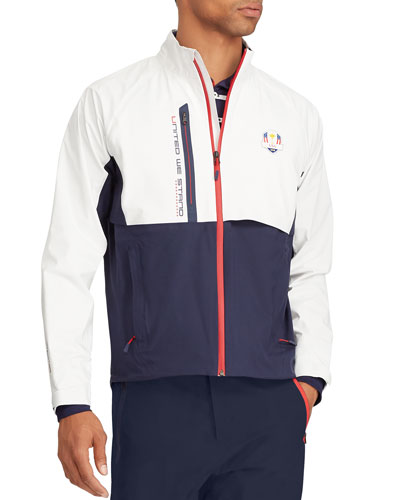 Men's USA Ryder Cup Unlined Camouflage-Print Golf Jacket