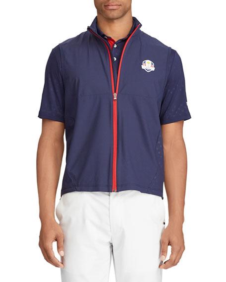 Ralph Lauren Men's Unlined Zip-Front Golf Vest