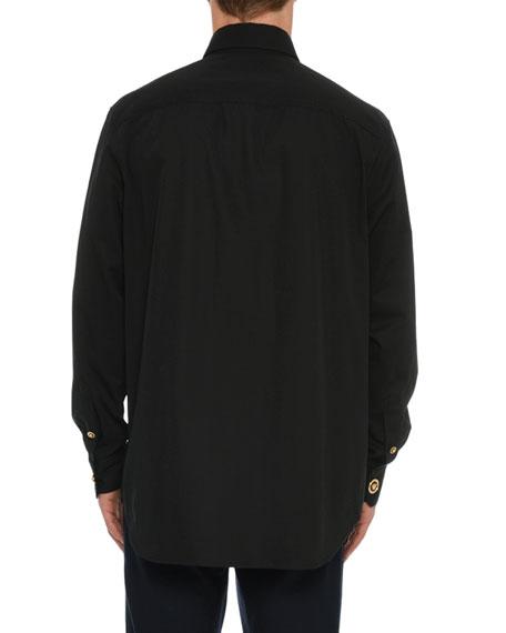 Men's Logo-Button Sport Shirt