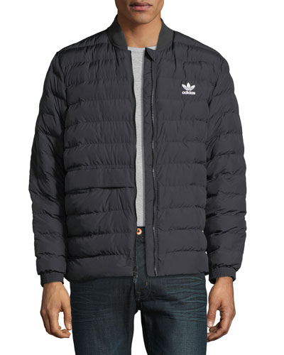 Men's STT Quilted Outdoor Zip-Front Jacket