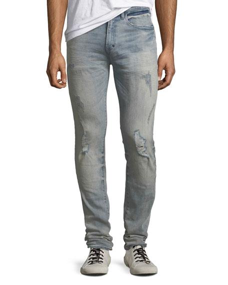 PRPS Men'S Windsor Distressed Skinny Jeans in Languid