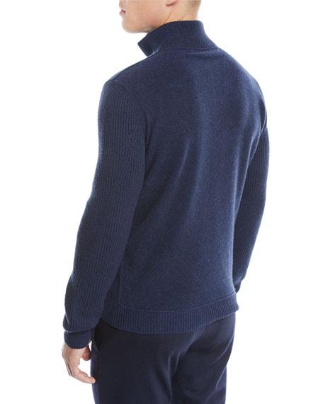 Ermenegildo Zegna Men's Wool-Blend Pullover Sweater