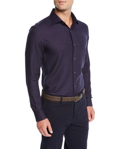 Men's Cashmere Sport Shirt