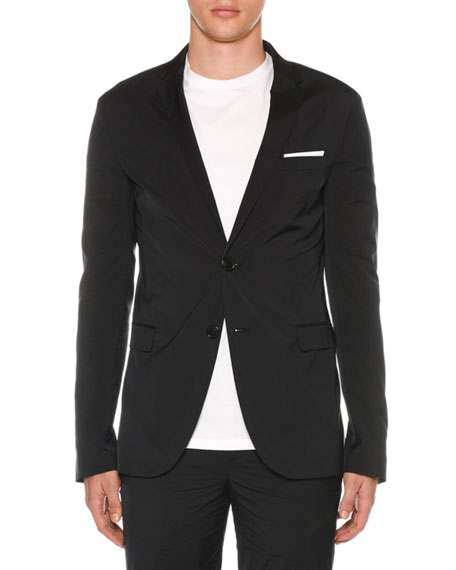 Men's Super Skinny Long Travel Jacket