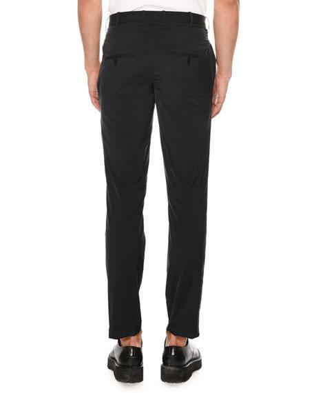 Men's Straight-Leg Skinny Travel Trousers