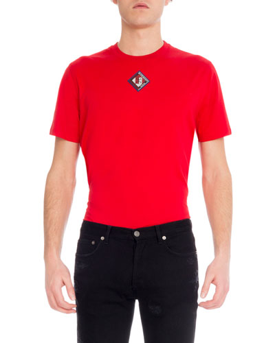 Men's Logo Patch T-Shirt