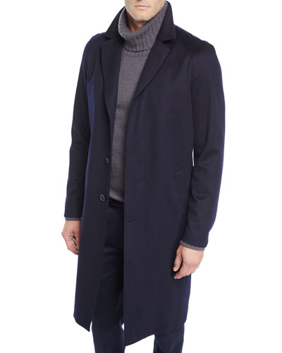 Men's Cashmere Shuttle Coat