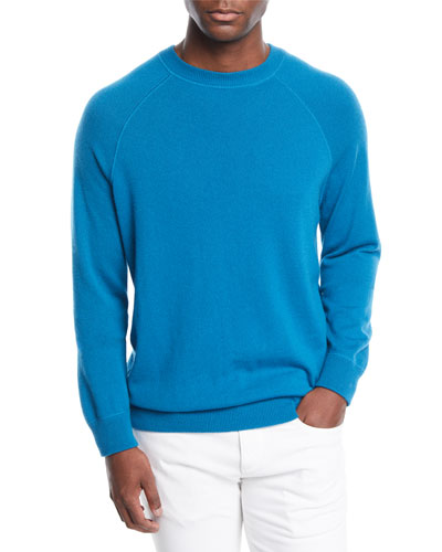 Men's Silverstone Cashmere Raglan Sweater