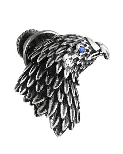 Men's Eagle Pin w/ Crystal Eye