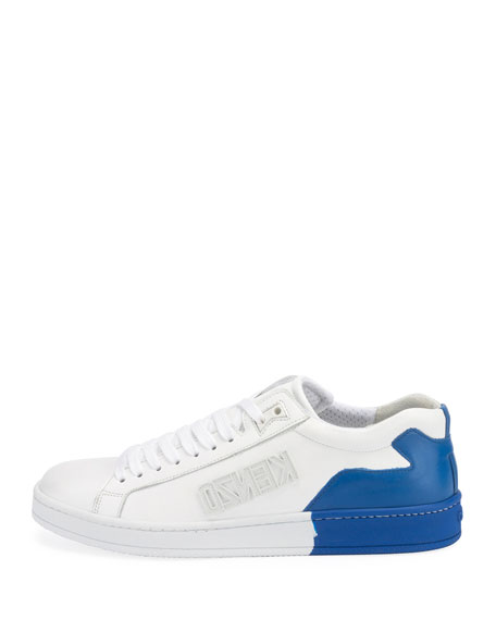Men's Tennix Two-Tone Leather Sneakers